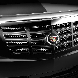 2013 Cadillac Escalade EXT Hood Protector -  Molded - Chrome 19172571
