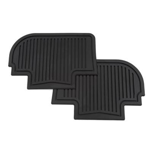 2012 Cadillac CTS Floor Mats - Rear All Weather 19159598