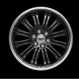 2011 Cadillac Escalade EXT 22 inch Wheel - CK798 Black Painte 19170799