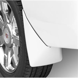 2014 Cadillac Escalade Splash Guards - Rear Molded - White Di 19212809