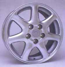 2003 Cadillac Seville Chrome Wheel 12495066