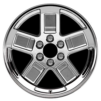 2006 Cadillac Escalade 20 inch Chrome Wheel Set of 4 - Wide 5 12499375