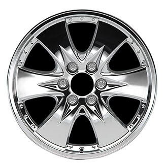 2006 Cadillac Escalade 20 inch Chrome Wheel Set of 4 - Wide 6 12499378