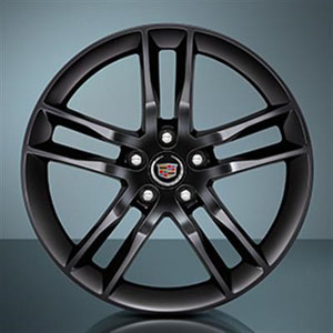2013 Cadillac ATS 19 inch Wheel -Split 5-spoke -  Black