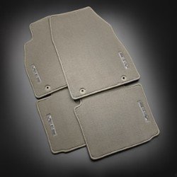 2017 Cadillac XTS Premium Carpet Mats, Front and Rear - Dark  22936909