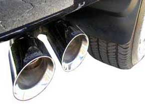 2003 Cadillac Escalade Exhaust Tip Kit by CORSA - GM Licensed Pr 14030