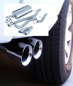 2004 Cadillac Escalade Exhaust System by CORSA 6.0L