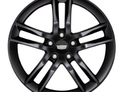 2017 Cadillac ATS 19 Inch Wheel - 5-Split-Spoke Gloss Black Premium Paint