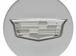 2016 Cadillac ATS Center Cap - Silver with Monochromatic Crest 19329267