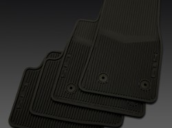2018 Cadillac CTS All Weather Floor Mats - Sedan - Black 22860182