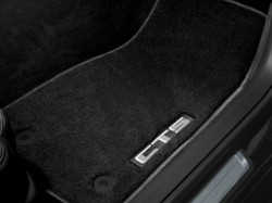 2017 Cadillac CTS Carpet Floor Mats - Premium - Black, with L 22860826