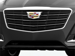 2015 Cadillac CTS Front Grille, Bright Chrome - Sedan 23473019