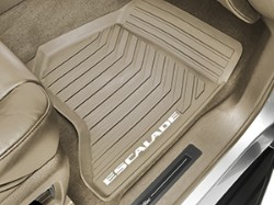 2015 Cadillac Escalade All-Weather Front Floor Mat - Dune 23470070