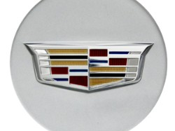 2016 Cadillac ATS Center Cap - Silver with Colored Crest 19329848