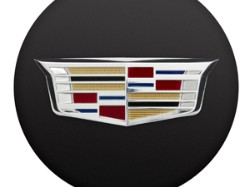 2015 Cadillac ATS Center Cap - Black with Colored Crest 19329847