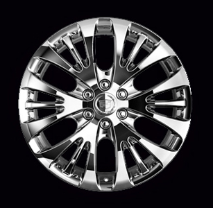 2009 Cadillac Escalade 22 inch Chrome Wheel - Narrow / Wide 1 17800366