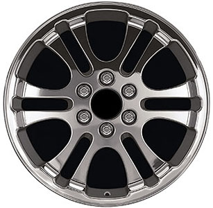 2006 Cadillac Escalade 20 inch Wheel / Tire Kit - Polished Dual WK-223