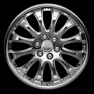 2010 Cadillac Escalade 22 inch Chrome Wheel - Narrow 12 Spoke 17800910