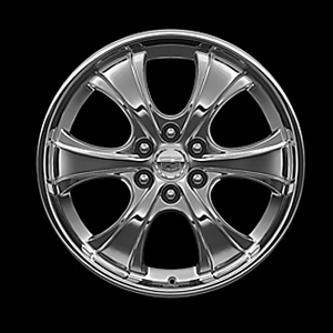 2012 Cadillac Escalade EXT 22 inch Chrome Wheel - Wide 6 Spok 17800923