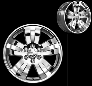2007 Cadillac Escalade 20 inch Chrome Wheel Set of 4 - Wide 5 17800952