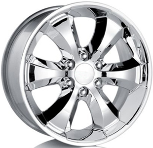 2006 Cadillac Escalade EXT 20 inch Chrome Wheel Set of 4 - Wi 17801211