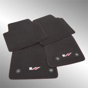 2017 Cadillac ATS Front and Rear Premium Carpet Mats - Vsport 23286044