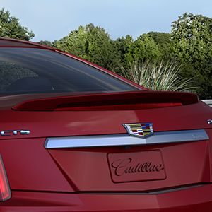 2017 Cadillac CTS Rear Spoiler - Sedan - Red Obsession Tintco 23244135