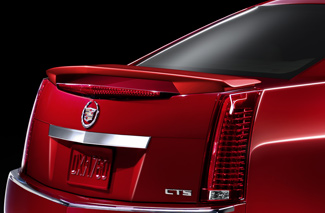 2012 Cadillac CTS Rear Deck Spoiler - Sedan