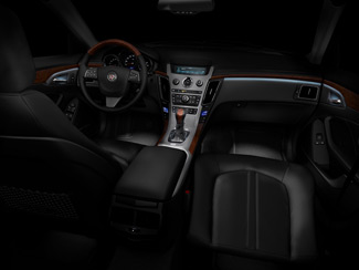 2010 Cadillac CTS Ambient Floor Lighting