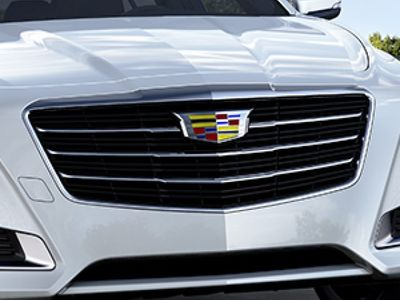 2018 Cadillac CTS Grille in Black with Chrome Surround 23473019