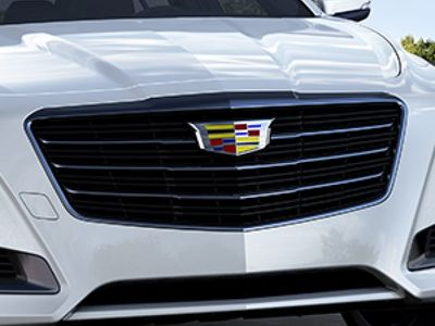 2018 Cadillac CTS Grille in Black Chrome 23478490