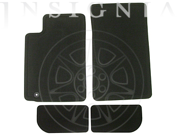 2009 Cadillac CTS Floor Mats -  Production Carpet