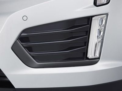 2018 Cadillac XT5 Fog Lamp Trim - Black Ice Chrome 84005599