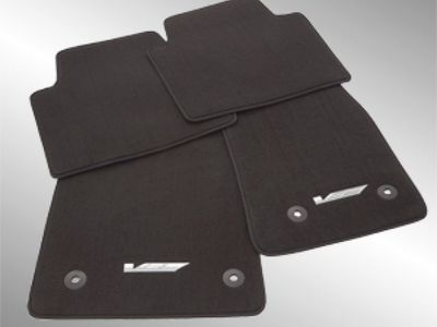 2018 Cadillac CTS Front and Rear Carpeted Floor Mats 84033823