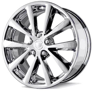 2007 Cadillac DTS 18 inch Wheel Kit - Chrome 10 Spoke Design