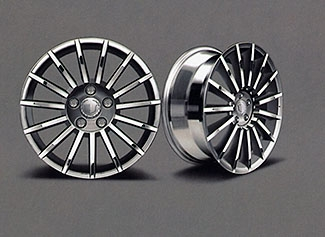 2007 Cadillac XLR 18 inch Wheel Kit - Polished 15 Spoke Design